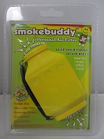Smoke Buddy Junior Pocket Size Personal Air Filter (Yellow)