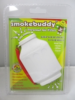 Smoke Buddy Junior Pocket Size Personal Air Filter (White)