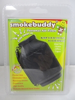 Smoke Buddy Junior Pocket Size Personal Air Filter (Black)