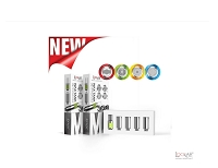 LOOKAH Snail Coil 1 Tip + 4 Coils - 5 Different Styles
