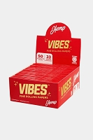 Vibes Fine Rolling Paper King Size Hemp 50 Papers 50 Booklet Display