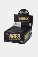 Vibes Fine Rolling Paper King Size Ultra Thin 50 Papers 50 Booklet Display