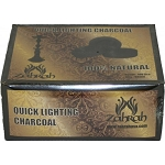Zahrah 33mm Quick Light Charcoal 10 Rolls 100ct