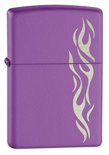 Zippo: Purple Flame Abyss # 24814