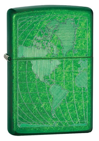 Zippo: Iced World Candy Green # 28340