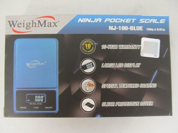 Weigh Max W-NJ 100g 0.01g Ninja Blue