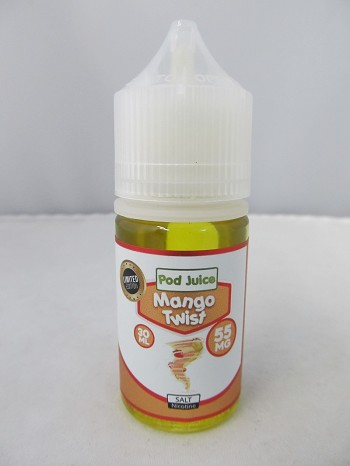 POD Juice 55mg Salt Nic 30ml (Mango Twist)