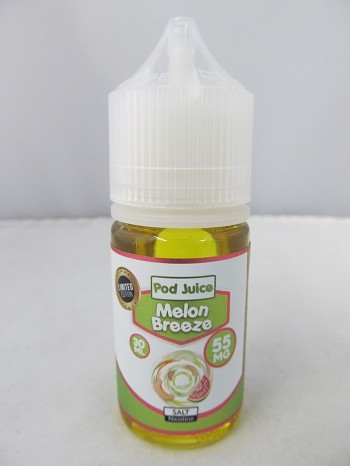 POD Juice 55mg Salt Nic 30ml (Melon Breeze)