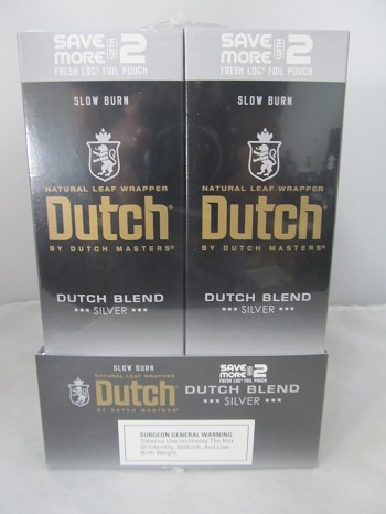 Dutch Master Deluxe Save More With 2- 2/30ct Pouch (Silver)