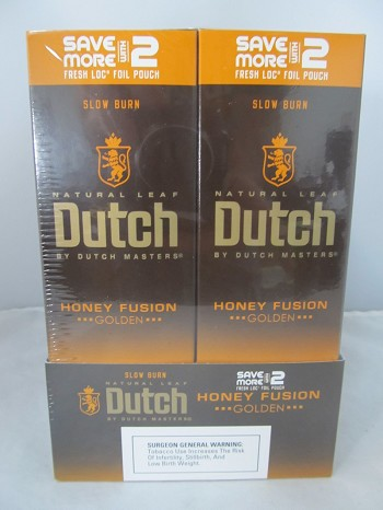 Dutch Master Deluxe Save More With 2- 2/30ct Pouch (Honey Fusion)