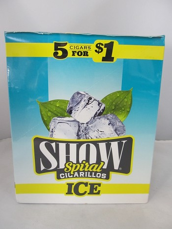Show Cigarillos 5 Cigars For $1 ~ 15ct Pouch (ICE)