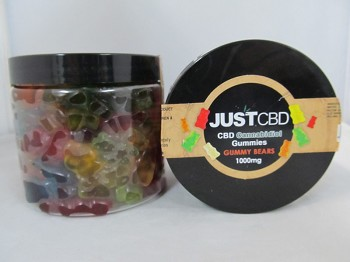 Just CBD Gummy Bears 1000mg | AAA Glasspipes
