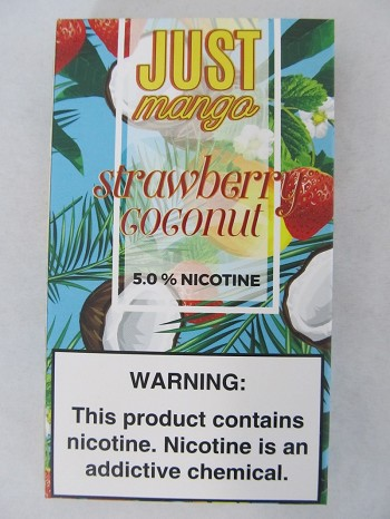 JUST Mango 5% 4ct PODS Strawberry Coconut