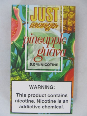 JUST Mango 5% 4ct PODS Pineapple Guava
