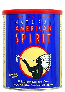 Natural American Spirit 100% US Grown Blend Tobacco 5.29 oz Can