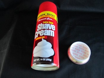 Shave Cream Stash