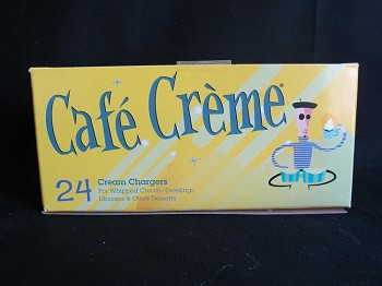 "Cafe Cream Charger 24ct ""Out of Stock"""
