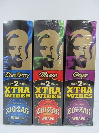 "Zig Zag Xtra Wide Blunt Wraps 24ct ""Out Of Stock"""
