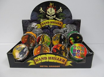 Bob Marley Drum 3 Part Grinder
