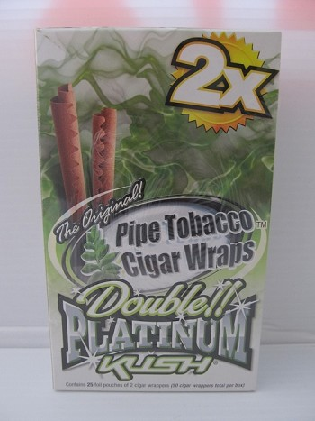 Double Platinum Blunt Wraps 25ct