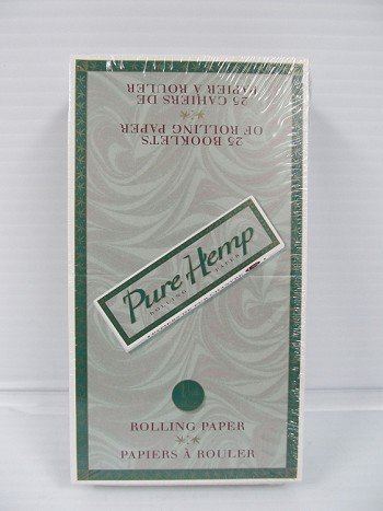 Pure Hemp 1-1/4 Size Papers 25 booklets
