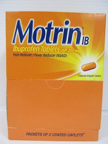 Motrin 25count 2pack