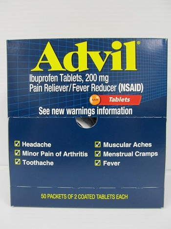 Advil 50count 2pack