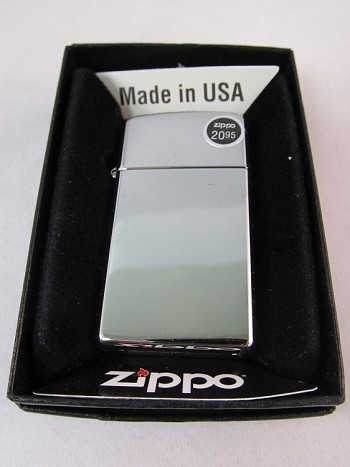Zippo: Slim High Polish Chrome #1610