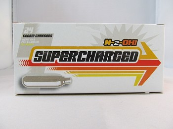 Supercharged Cream Charger 24count