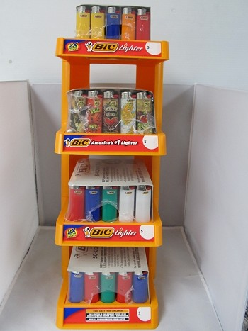 Bic Lighter Display 200ct