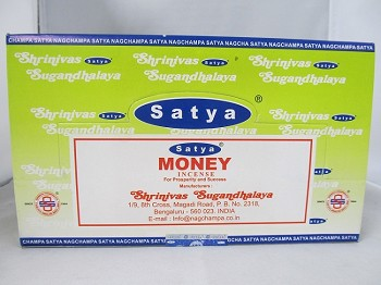 Nag Champa Money 15g 12 Pack