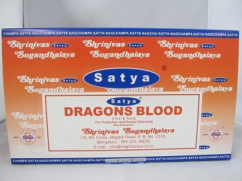 Nag Champa Dragons Blood 15g 12 Pack