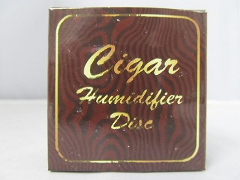 Cigar Humidifier Disc w/ Velcro Strip 1ct