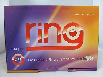 Ring Quick Light 38mm Charcoal 100ct
