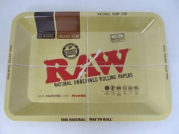 Raw Metal Rolling Tray 7