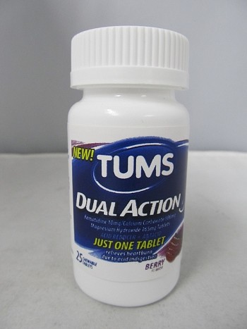 Tums Dual Action Medicine Stash Can