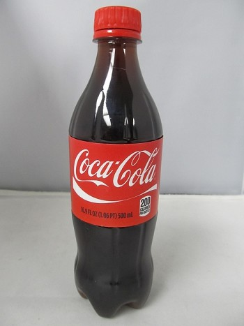 Coca Cola Screw Stash Bottle