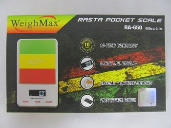 Weigh Max W-RA 650g 0.1g Rasta Accent