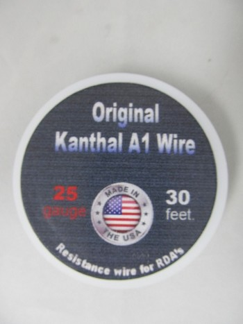 Easy Wrap 25 Gauge Kanthal A1 Wire 30Feet
