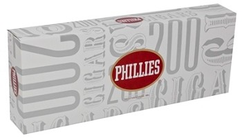 Phillies Original Cigars 100's 10/20pk